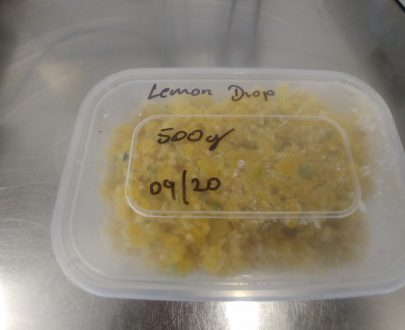 500g plastic tub of frozen Lemon Drop chillies.